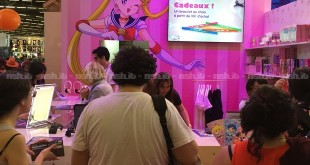Japan Expo 2016: Lo stand dedicato a Sailor Moon