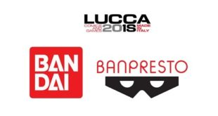 Bandai e Banpresto a Lucca Comics and Games 2018