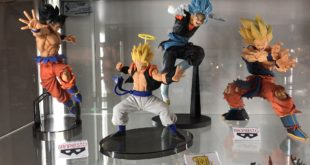 Banpresto in mostra a Model Expo Italy 2019